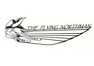 Privately Commissioned Viking Design for kayak and t-shirt